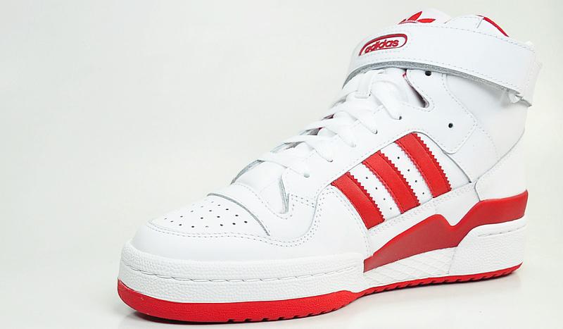 new style a5b61 b43dc ... real ldrs1354 x adidas originals forum mid moccasin red nazwy wasne i  logo produktów s wasnoci
