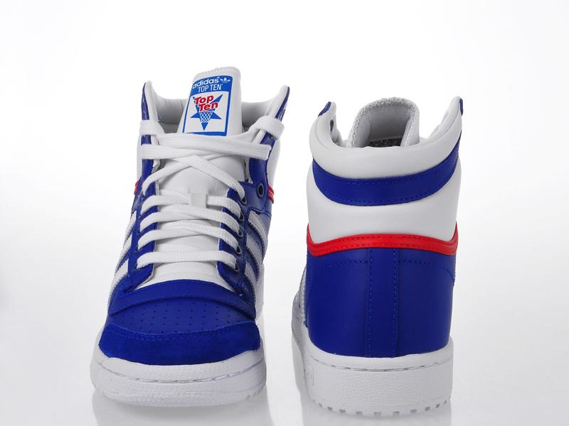 Buty Młodzieżowe Adidas Top Ten HI J (M25306)
