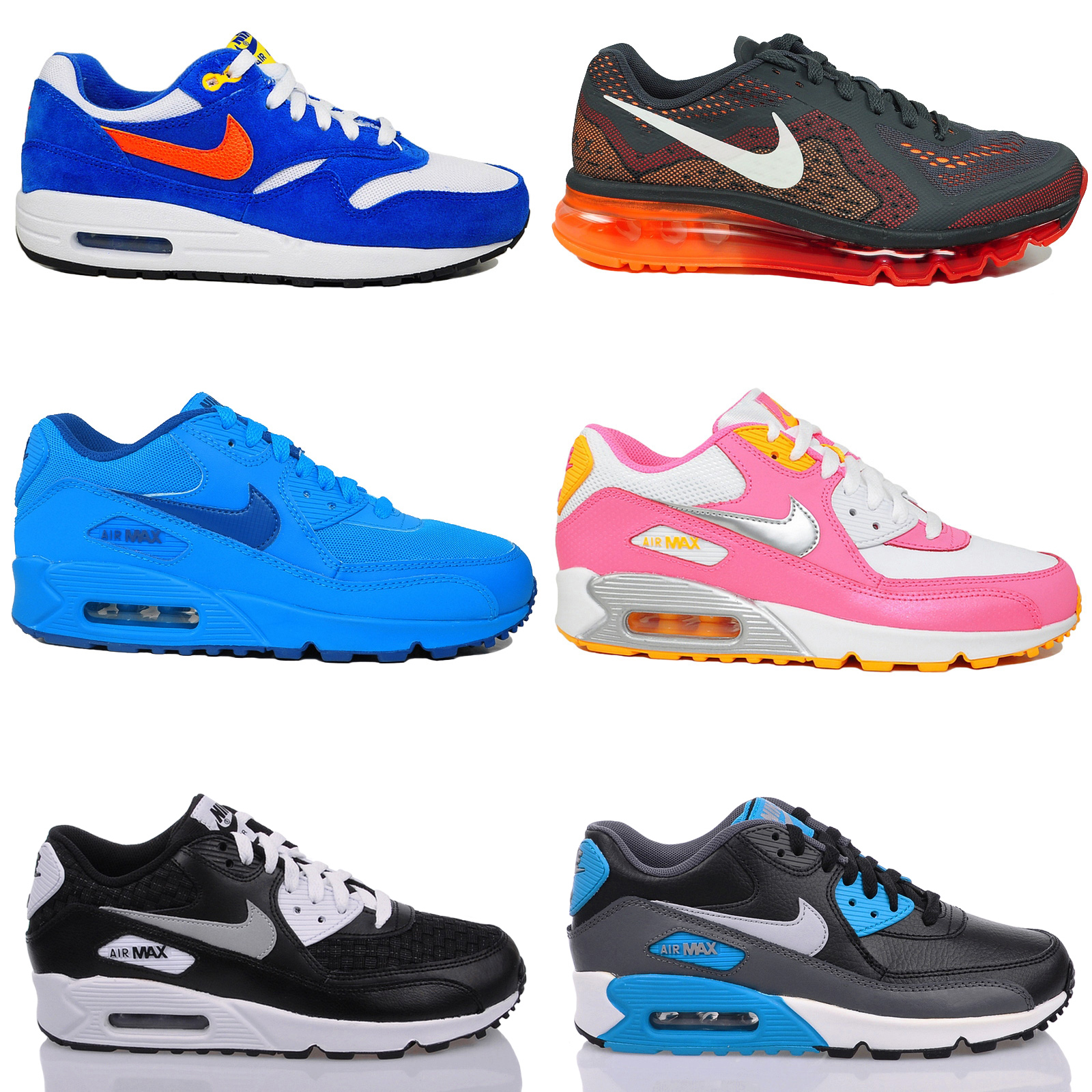 neu nike air max 90 gs sneaker sportschuhe damen. Black Bedroom Furniture Sets. Home Design Ideas