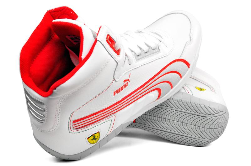 Buty Puma Ferrari Meskie Czerwone
